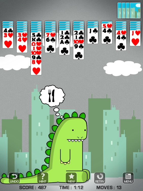 Spider Solitaire for iPad screenshot-4
