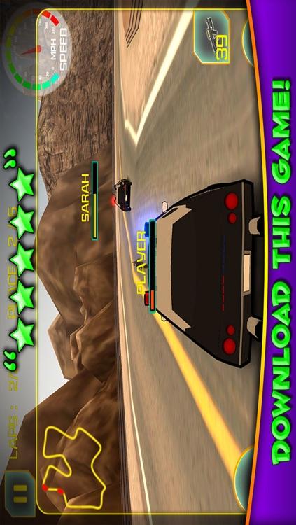 3D Police Car Race - Cop Racing Games