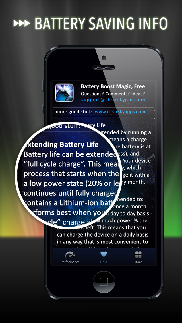 Battery Life Magic, free Screenshot