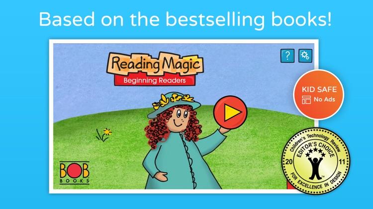 Bob Books #1 - Reading Magic HD screenshot-0
