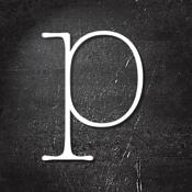 Poetics - create, write and share visual poetry icon