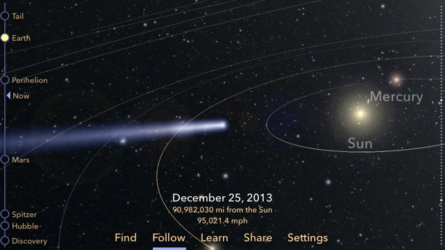 Comet ISON Screenshot