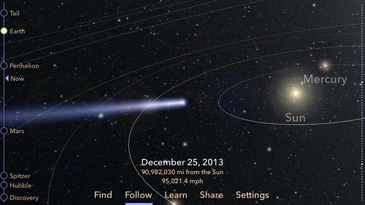 Comet ISON screenshot-0