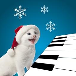 Animated 3D Singing Kitten Piano