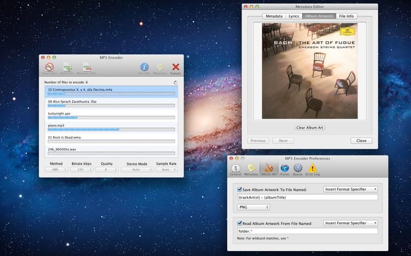 MP3 Encoder Screenshot