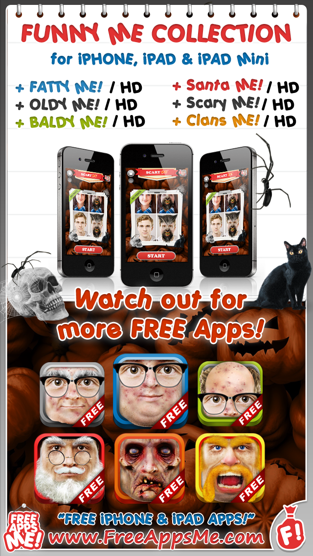 Scary ME! FREE - Easy to Monster Yourself Face Maker with