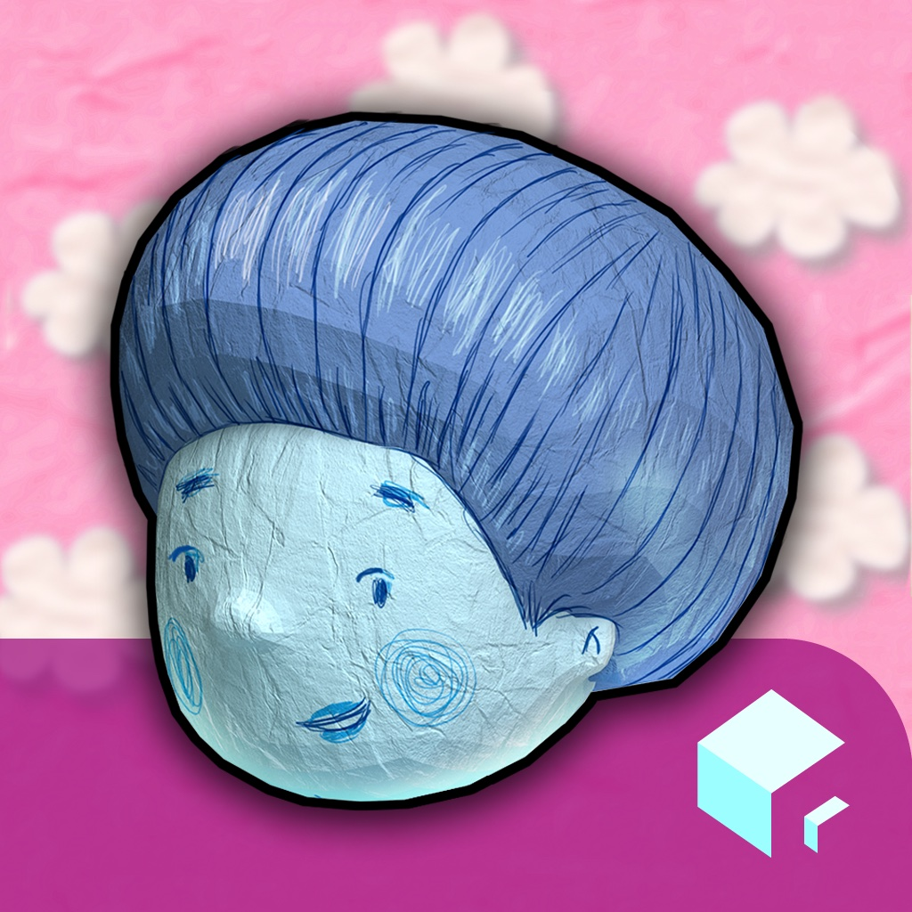 Blue Bernard - Interactive storybook. A story about differences, colors and new people