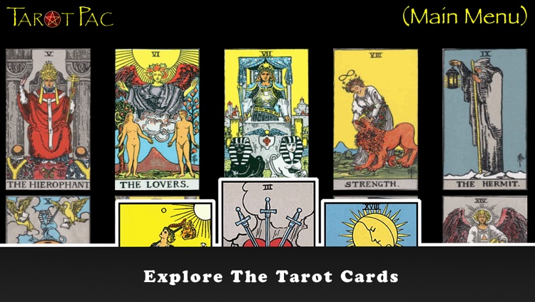 TarotPac Free Tarot Cards