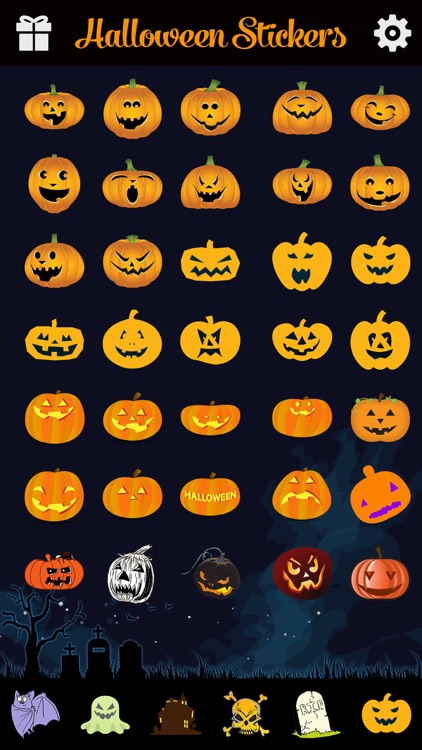 Halloween Emoji Pro - Add Scary Ghost & Zombie Emoticon Stickers to Messages for Greetings screenshot-3