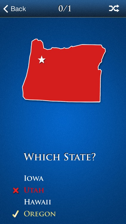 Learn the 50 States of the United States of America! (Study Pro) screenshot-3