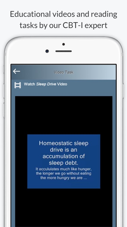 Night Owl - Sleep Coach - Cognitive Behavioral Therapy for Insomnia screenshot-3