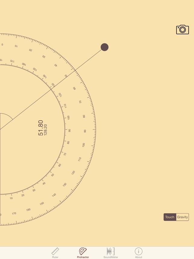 ytools-flashlight,ruler,spirit level,protractor and sound level meter Screenshot