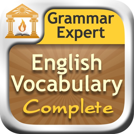 Grammar Expert : English Vocabulary Complete icon