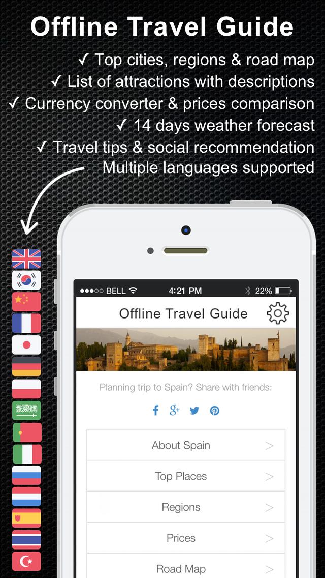 India offline Travel Guide & Map. City tours: Mumbai,Taj