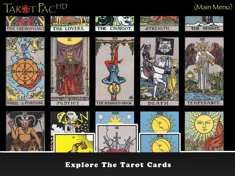 TarotPac Tarot Cards HD Free screenshot-3