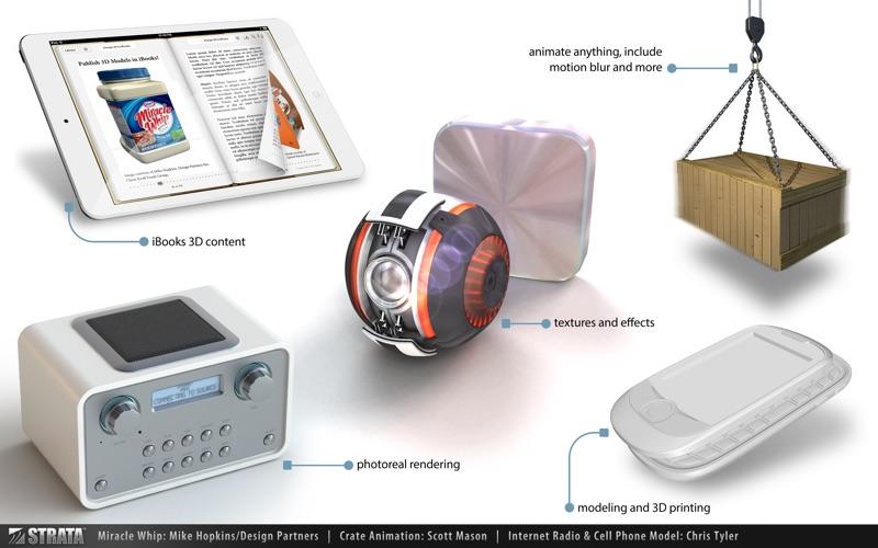 Strata Design 3D CXi скриншот программы 5