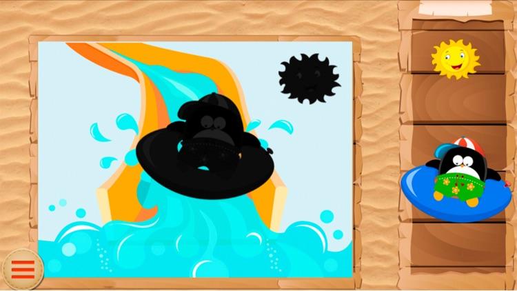 Baby Puzzle: Penguins screenshot-3