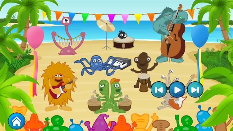 Monster Band. Musical Game