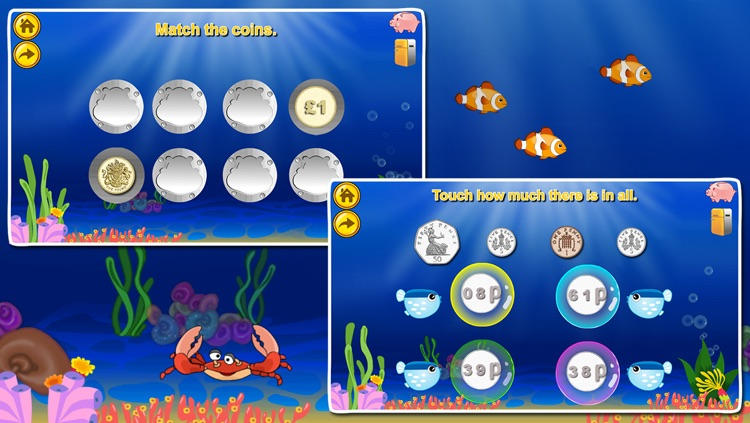 Amazing Coin(GBP£): Educational Money Learning & Counting games for kids screenshot-3
