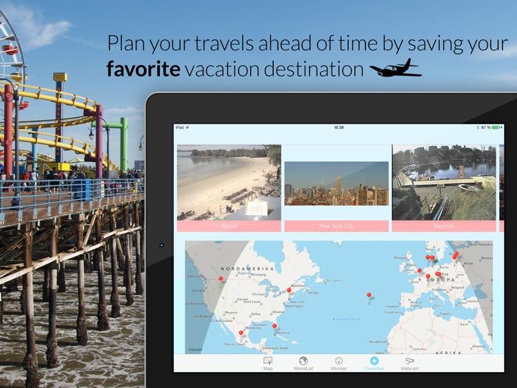 Webcam Atlas - Live travel destination webcams for your next vacation