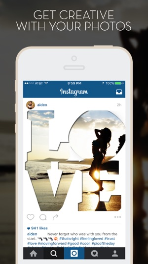 LetterFX - Word Frames for photos (Instagram edition) on the App Store