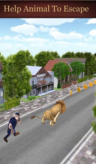 Zoo Escape - An Endless Running screenshot three