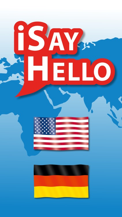 iSayHello English - German
