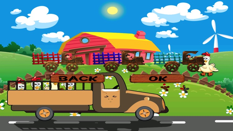 Chicken Farm - My Tiny Tractor Racing Game For Kids