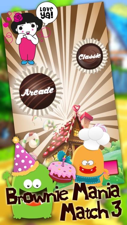 Brownie Mania Match 3