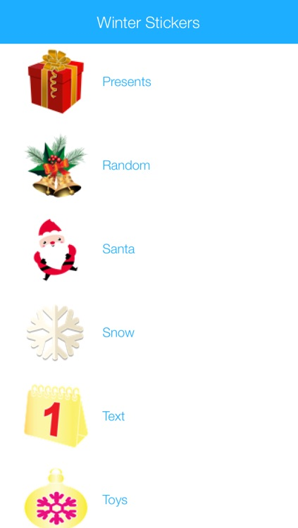 Winter Stickers & Emoji for Messengers 2016 Edition screenshot-0