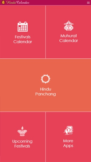 Hindu Calendar iOS on the App Store