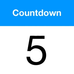 Countdown app for iPhone / iPad