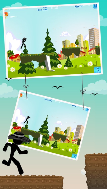Stick Flick - Top Free Swipe & Jump Game screenshot-4