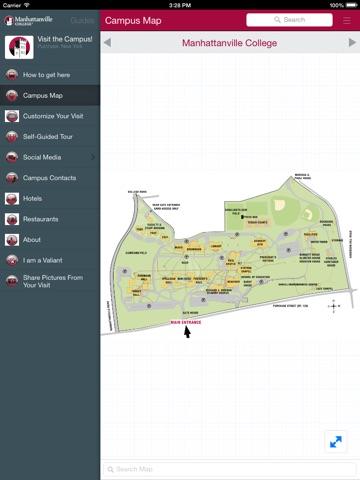 Manhattanville College App-ipad-1
