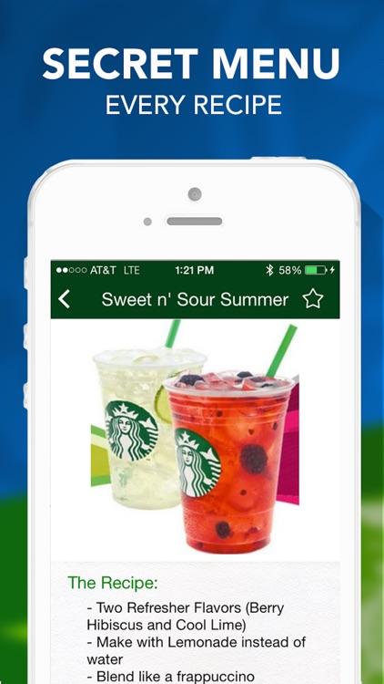 Secret Menu for Starbucks Pro