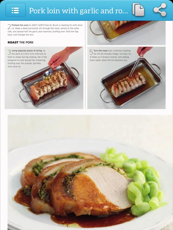 Cooking Recipes Step by Step Cookbook - iPad Version screenshot-3