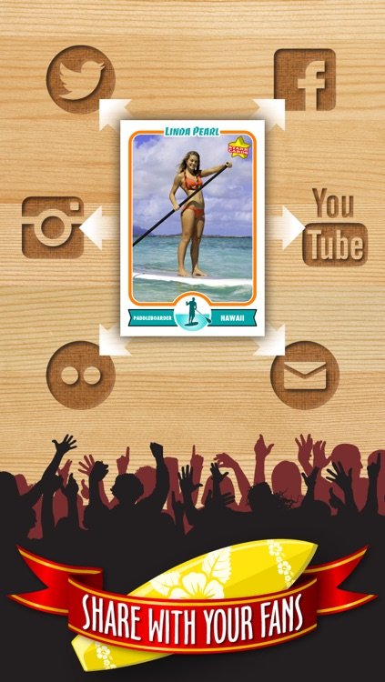 Surfing Card Maker - Make Your Own Custom Surfing Cards with Starr Cards screenshot-3