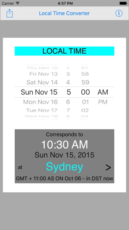 Local Time Converter screenshot-4