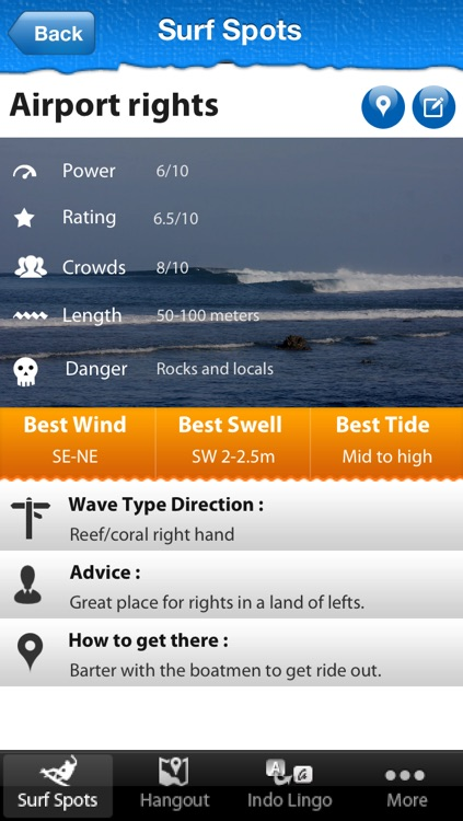 Bali Surf Guide screenshot-3