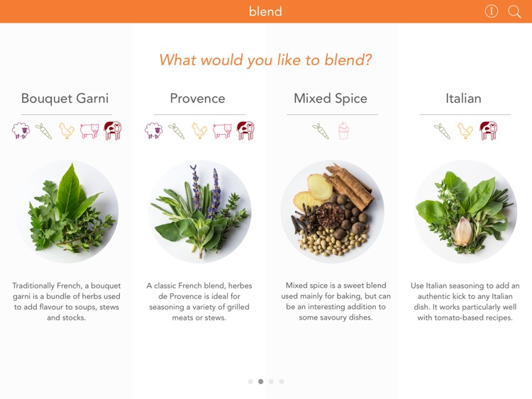 Blend : The Spice Blend Recipe App screenshot-0