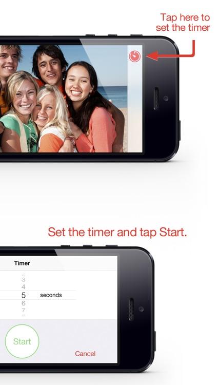 Camera Timer .Simply - Photo Timer for the Camera screenshot-3
