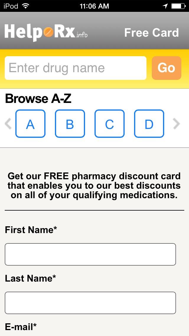 helprx mobile prescription discounts - Best Prescription Discount Card
