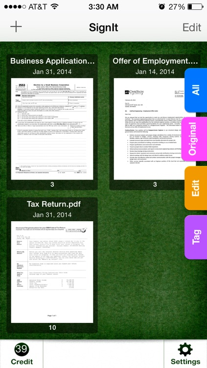 SignIt - Sign and Fill Documents On the Go