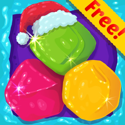 Candy Diamond Games Christmas - Cool Candies and Jewels Swapping Match 3 Puzzle Game For Kids HD FREE