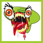 Alien Zombie Bug Face icon