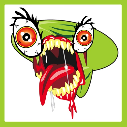 Alien Zombie Bug Face iOS App