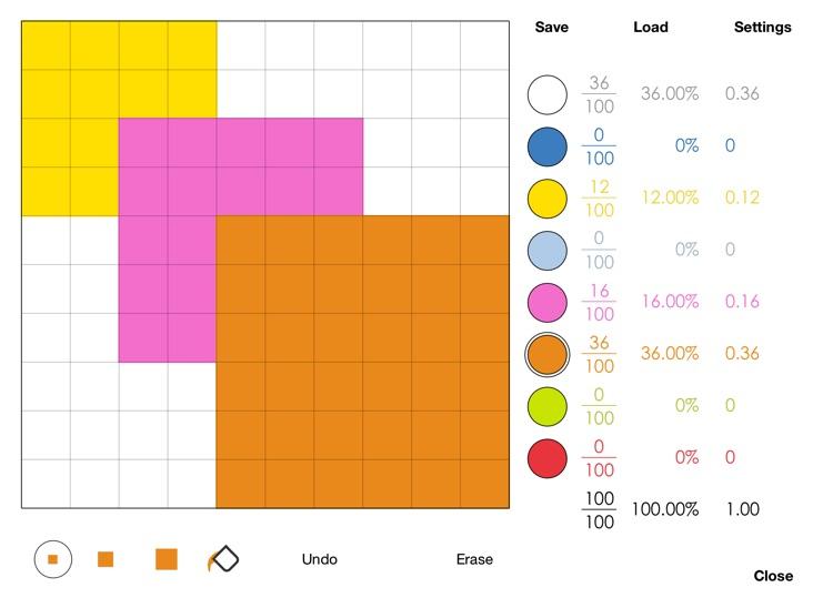 Visual Fractions Decimals and Percentages screenshot-3