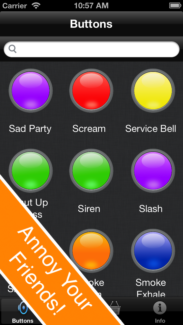 Instant Sound Effects Buttons FREE   App Price Drops