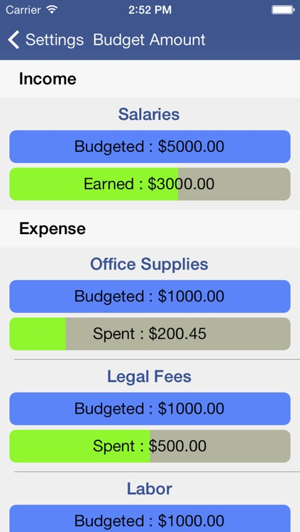 Expense Tracker & Easy Budget screenshot-4