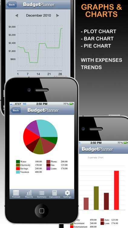 Budget Planner & Web Sync (income and expense balance calendar) screenshot-4